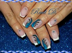 It`s all about nails: French http://radi-d.blogspot.com/2014/04/french.html