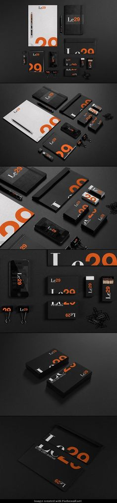 Le29 Brand Identity Design by Juan Alfonso Solís Martínez http://weandthecolor.com/le29-brand-identity-design-juan-alfonso-solis/32340 - created via http://pinthemall.net. The UX Blog podcast is also available on iTunes.