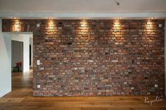 stara cegła rozbiórkowa ceglana płytka ściana z cegły Brick Interior, New Interior Design, Industrial Home Design, Industrial House, Home Decor Bedroom, Home Decor Furniture, Wall Design, House Design, Casa Loft