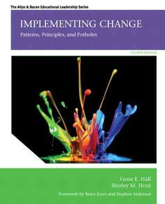 implementing change patterns principles and potholes