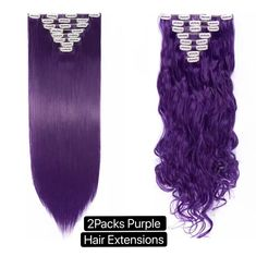 Clip In Hair Extensions, Synthetic Hair Extensions, Set Cover, Hair Pieces, Hair A, Curls, Dark Hair, Knots