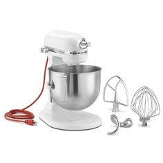 KitchenAid 7 Qt. Commercial Stand Mixer (White)