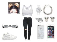 """""""calvin klein"""" by naybeauty98 on Polyvore featuring Calvin Klein, NIKE, Yves Saint Laurent, Chanel, AS29 and Casetify"""