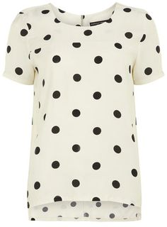 large spot tee / dorothy perkins