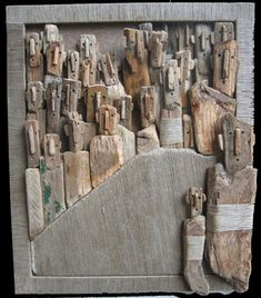 Marc Bourlier - Artiste Peintre, Sculpteur - Oeuvres et Sculptures, Bois Flotté, Peintures - Art Singulier // Artist, Sculptor - Drywood, Si...