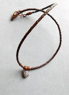 Items similar to Mens Banded Agate pendant necklace, brown braided leather cord, jewelry for men, guys, gift under 25 on Etsy Braided Leather, Leather Cord, Men Necklace, Pendant Necklace, Agate, Braids, Guys, Trending Outfits, Brown