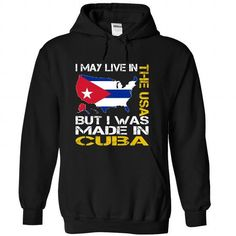 I May Live in the United States But I Was Made in Cuba Yellow T Shirts, Hoodies. Check price ==► https://www.sunfrog.com/States/I-May-Live-in-the-United-States-But-I-Was-Made-in-Cuba-Yellow-juibdwsgss-Black-Hoodie.html?41382 $39.99