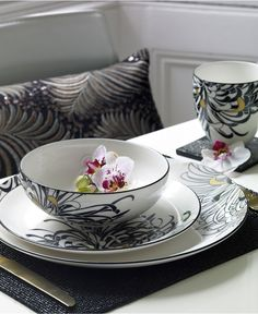 Monsoon Dinnerware Collection by Denby, Chrysanthemum Collection - Fine China - Dining & Entertaining - Macy's