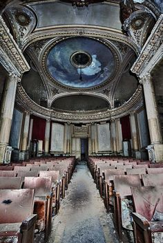 Theatre Baroque ~ ♥ #abandoned #ruins #architecture