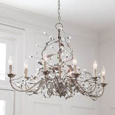 Claire 8-Light Oval Chandelier Ballard Designs Love the new oval shape of this classic!