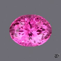 Pink Sapphire Portuguese Cut 1.86 cts