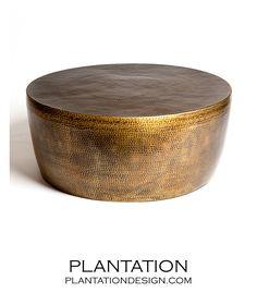 PLANTATION | Akila Brass Coffee Table