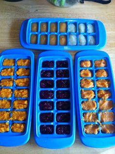 Make one month's worth of baby food at home in an hour and a half for less than $10. All natural baby food. Fruit and Veggie purees. http://www.iwillrunforfood.tumblr.com save money on babies, #SaveMoney #Money
