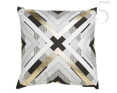 Love love love this pillow cover! Deco Famous Pillow by Jordan Carlyle: $49.99; Lulu & Georgia