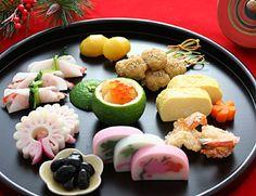 ワンプレート アレンジおせち Japanese New Year Food, Japanese Dishes, Japanese Sweets, Food For Eyes, New Year's Food, Sushi Recipes, Food Presentation, Food Plating, Food And Drink