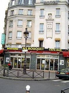 PARIS: Hotel de la Terrasse - Forget about al the low reviews; this is the best BUDGET hotel in the centre of Paris. And quite possibly the very cheapest in its kind. It's very simple: what you see is what you get.  The metro is right in front of you: Paris at your feet!