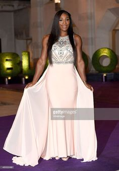 Serena Williams attends the Wimbledon Champions Dinner at The Guildhall on July 12, 2015 in London, England.  (Photo by Karwai Tang/WireImage)