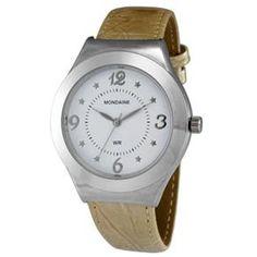 Relógio Feminino Analógico Mondaine 76108L0MENHG – Bege