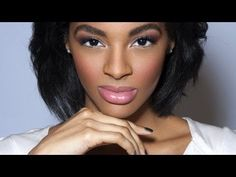 BEST contouring how to for brown skin girls he BEAT her face i LOVE it  Natural Contouring: HD Makeup Tutorial