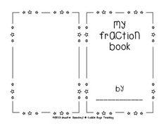 Fraction Book - Blank. Teachers Pay Teachers. Students create based on vocabulary. FREEBIE