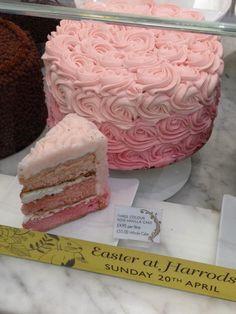 Harrods Food Hall - London, United Kingdom. Harrods cake.
