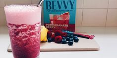 Very Berry Bevvy Spritzer | Slip on some sunglasses and sip on this tart-and-sweet berry spritzer on your next staycation. Blueberries, raspberries, fresh lemon juice, Pomegranate Berry Bevvy blend up for fruity freshness while sparkling water adds that extra special fizz. Healthy Drinks, Healthy Cooking, Cooking Tips, Healthy Eating, Fresh Lemon Juice, Fresh Fruit, Fixate Recipes, Beachbody Blog, 2000 Calories