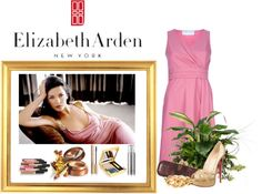 """""""A Glimpse of Gold with Elizabeth Arden"""" by elenastrelkova on Polyvore"""