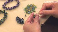 Artbeads Mini Tutorial - Spiral Rope  ~ Seed Bead Tutorials