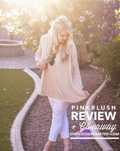 PinkBlush : Featured on EspressoEverAfter.com  With Mother's Day right around the corner, I thought it would be fun to share with you the perfect way to find a darling outfit & here's the kicker… from the convenience of your computer!  I stumbled upon this amazing  women's online boutique and I am completely in love with their affordable selection and adorable options.  Ladies, let me introduce you to PinkBlush. YAY!