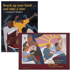 Langston Hughes Quote Posters