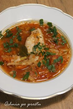 Fish Soup, Thai Red Curry, Ethnic Recipes, Food, Fish Chowder, Meal, Chowder, Essen, Hoods