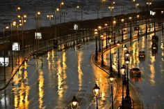 Rain in Alexandria Egypt
