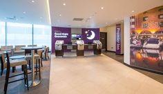 Reception area at Premier Inn London City (Aldgate) hotel