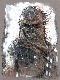Star Wars by Tony Harris Star Wars Rpg, Star Wars Rebels, Chewbacca, Star Wars Prints, Star Wars Images, Love Stars, Sci Fi Art, Pictures To Paint, Comic Books Art