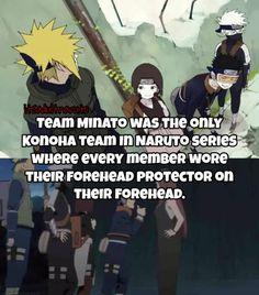 Team Minato Fact - Obito, Kakashi, Rin ❤️❤️❤️
