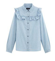 Trouva: A.P.C. Memphis Shirt