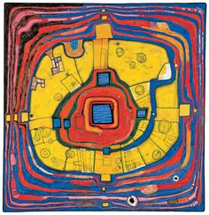 Hundertwasser 931 DER KLEINE WEG, 1991 © KUNST HAUS WIEN, 2012