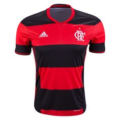 Flamengo 16/17 Home Soccer Jersey  | $89.99 | Holiday Gift & Stocking Stuffer ideas for the Clube de Regatas do Flamengo fan at WorldSoccerShop.com