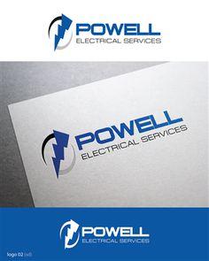 Powell Electrical Services - New Logo Bold, Modern Logo Design by Esolbiz