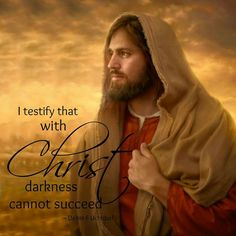 With Christ darkness cannot succeed