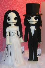 Image result for goth zombie peg doll