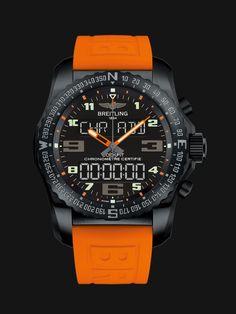 Breitling Cockpit Night Mission Special Edition, un reloj con un estilo fuera de lo común para un instrumento fuera de serie. #Breitling #DíaDelPadre #ideas #regalos