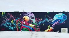 "Deih, ""Death/Life"" in Buena Vista, Miami, FL, USA, 2018 Dee Dee, Photo Art, Street Art, Death, Fl Usa, Tapestry, Miami, Life, Hanging Tapestry"