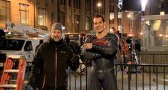 Foto dos bastidores de Batman Vs Superman!! #Superman #JusticeLeague #AlwaysHenryCavillBrasil (By @heroic.gateway)