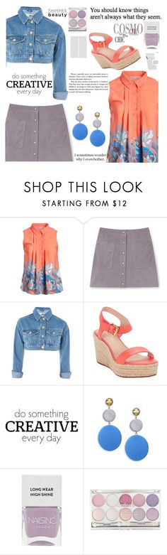 """""""238"""" by erohina-d ❤ liked on Polyvore featuring jon & anna, Rebecca Minkoff, Topshop, Kate Spade, WALL, Elizabeth and James and Nails Inc."""