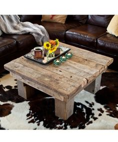 antiok barn wood - Barn Board Coffee Tables