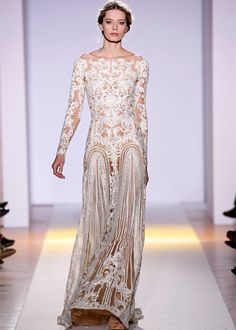 Zuhair Murad Spring 2013 Couture// white illusion