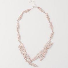 Michael Michaud Birch Bark Contour Necklace - Silver