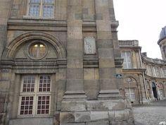 Paris-bise-art : Enceinte de Philippe Auguste - La tour de Nesle