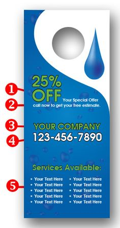 Water Services Door Hanger : http://www.printit4less.com/index.php?main_page=product_info&cPath=110_58_242&products_id=879